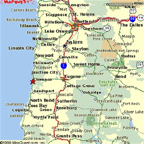 map of oregon coast welcome to florence oregon area maps