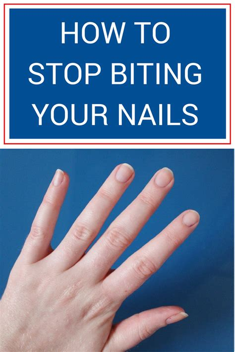 how to make a stop biting how to stop biting your nails