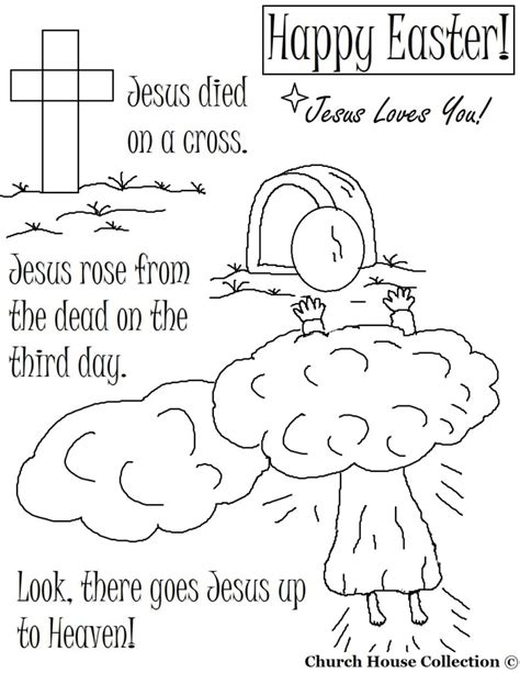 Free Printable Coloring Pages For Christian Easter