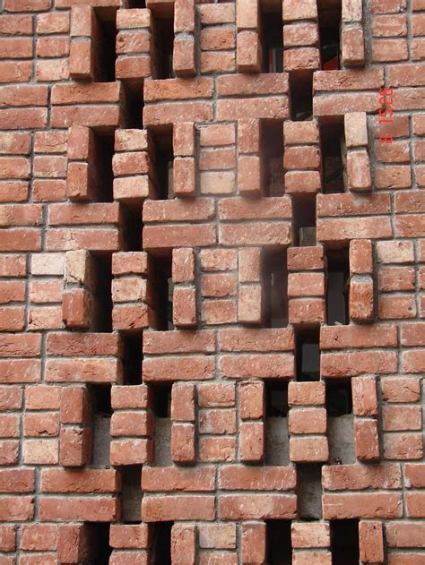c pattern brick brick jali gharexpert brick bricks brick design and brickwork
