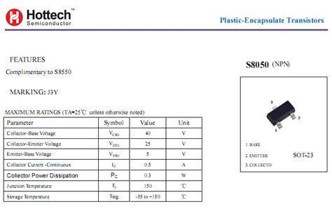 transistor j3y datasheet transistor j3y datasheet 28 images 5 x transistor j3y s8050 npn 40v 1 5a transistor sot 23