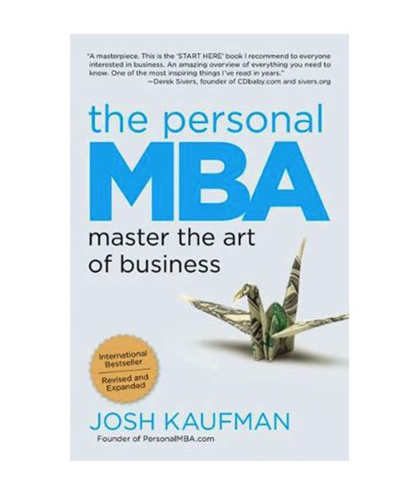 Una Mba Review by The Personal Mba Booktiquerd