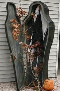 Coffin Halloween Decoration Coffin Halloween Decor All Hallow S Eve Pinterest