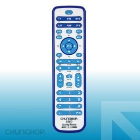 Chunghop Universal Smart Remote For Tv Dvd Cbl Sat L35 computer remote black jakartanotebook