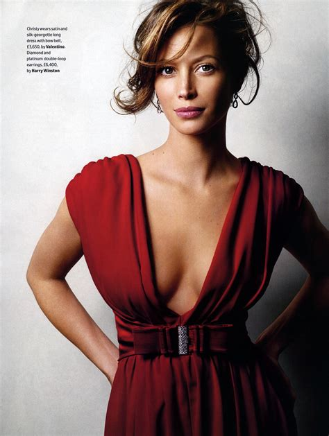 hottest women  christy turlington