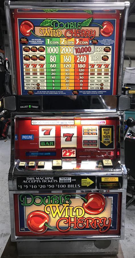 double wild cherry slot machine slot machines unlimited