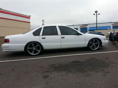 lowered muscle cars buy used 96 95 94 93 92 91 caprice classic impala ss clone