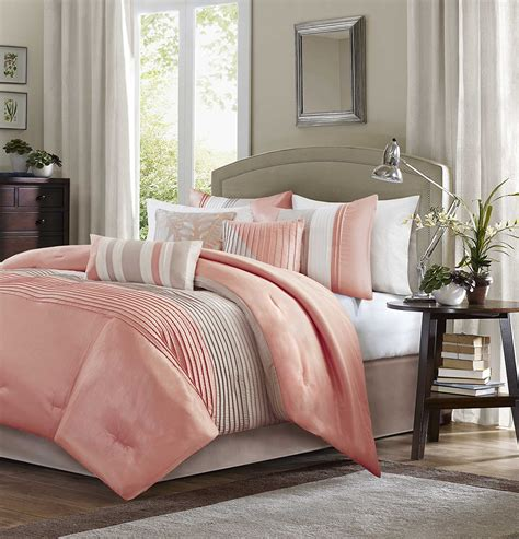Bed Cover Set King Size Coral Blue coral duvet cover set ease bedding with style