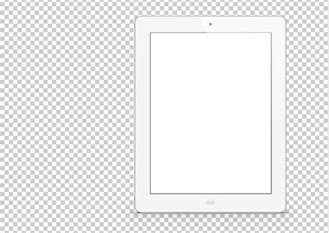 white ipad photoshop mockup pitchstock