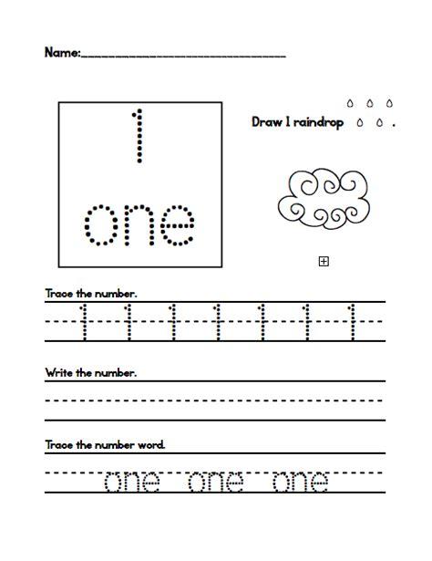 pre k worksheets number tracing preschool number one kindergarten tracing numbers 1 20 tracing number free