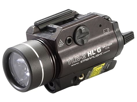 streamlight laser light combo streamlight tlr 2 hl g weapon light led green laser 2