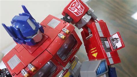 Takara Tomy Transformers Masterpiece Mp 8x Cybertron Commander King Gr mp 4 takara masterpiece cybertron commander convoy review