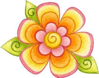 imagenes de flores individuales flores coloreadas para imprimir