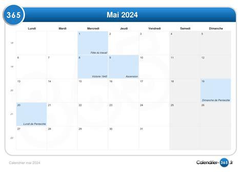 Calendrier 8 Mai Calendrier Mai 2024