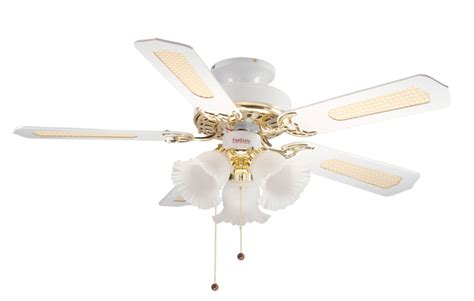Fantasia Ceiling Fan Lights Fantasia 110545 42in Belaire White And Brass Combi Ceiling Fan With Light