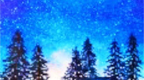 watercolor tutorial starry night starry night watercolor painting tutorial fast and easy