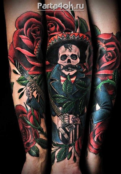 mexican rose tattoo great mexican pictures tattooimages biz