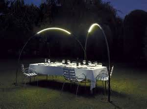 External Solar Lights - ambient outdoor led lighting inspired by halley s comet inhabitat green design innovation