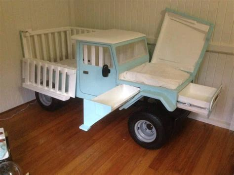 Car Changing Table A Truck Crib That Turns Into A Changing Table Home Design Garden Architecture Magazine
