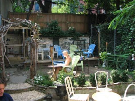 backyard bar brooklyn laptop coffee suntan brooklyn s best outdoor cafes to