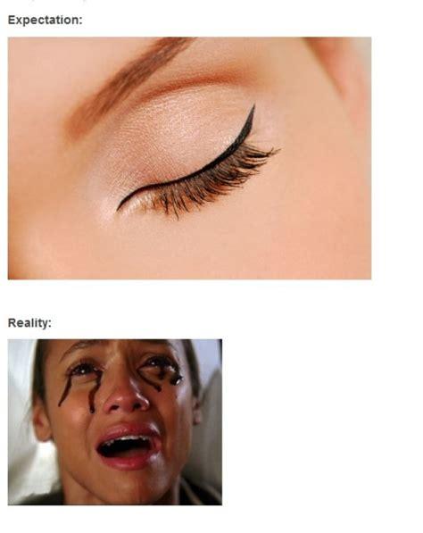 Eyeliner Meme - how to apply liquid eyeliner memes