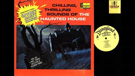 Records Houses Disney Haunted House Sound Effects Record 1964