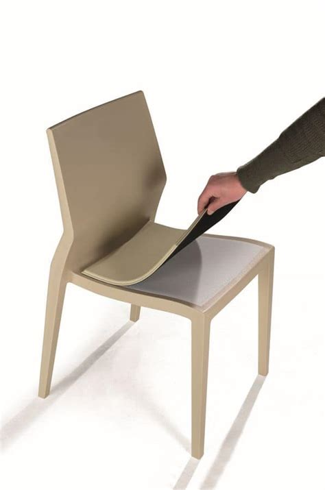 sedie per esterni sedia indistruttibile per esterni con cuscini removibili