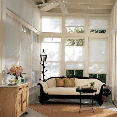 modern window coverings for large windows silhouette blinds vs honeycomb shades modern window