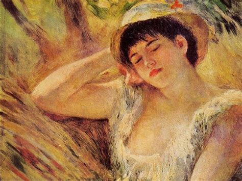Painting Sleepers by Shopping Auguste Renoir The Sleeper Painting