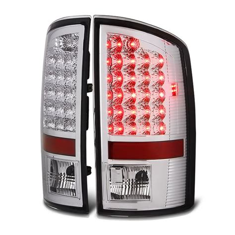 dodge ram 1500 tail lights 02 06 dodge ram 1500 2500 3500 euro style bright led