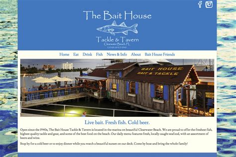 the bait house tackle tavernclearwater florida