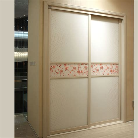 Built In Wardrobes With Sliding Doors by White 2 Doors Sliding Door Built In Wardrobe Yg21243 In
