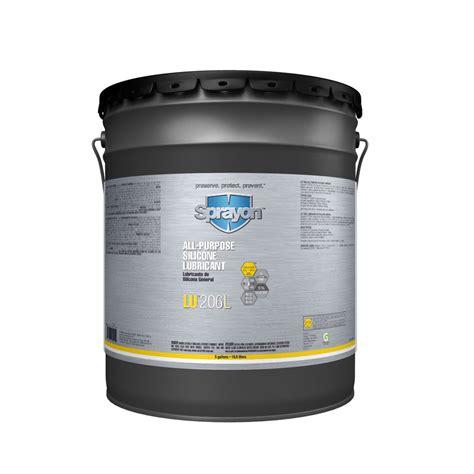 silicone bulk sprayon lu 206l liqui sol all purpose silicone lubricant