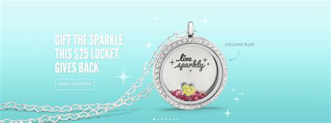 Origami Owl November Special - sold out live sparkly locket set origami owl 25
