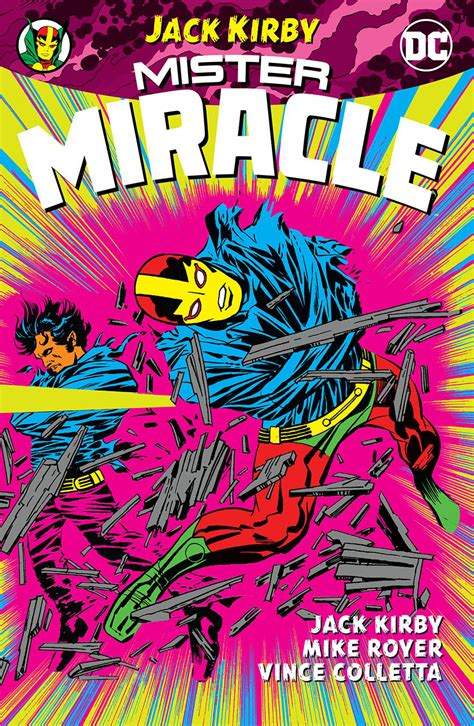 early color new edition 3869303522 jun170376 mister miracle by jack kirby tp previews world
