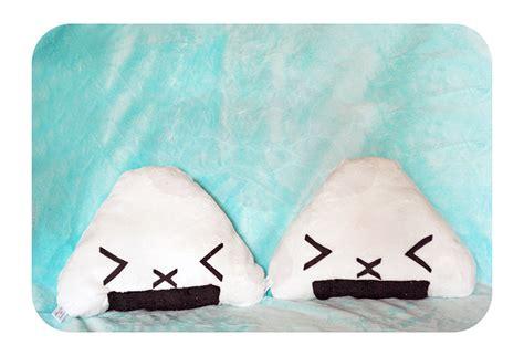 Onigiri Pillow by Emoticon Onigiri Pillow By Shadowedporcelain On Deviantart