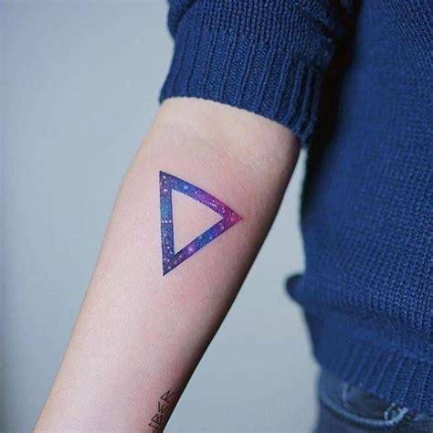 jeffs tattoo 1000 ideas about triangle tattoos on tattoos