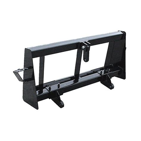 point hitch adapter skid steer attachment