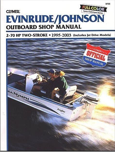 Evinrude Johnson Outboard Manual Service Shop And
