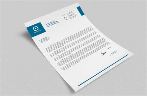 business card template docx corporate letterhead vol 16 with ms word doc docx by