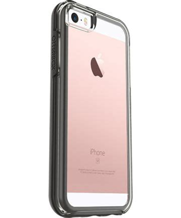 Otterbox Symmetry Black Clear For Iphone 6s6 Original Asli otterbox symmetry clear iphone se black gsmpunt nl