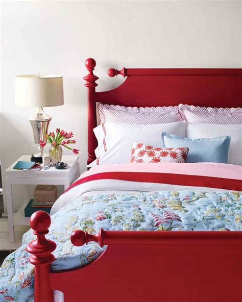 red bed frame 20 inspiring red rooms making it lovely