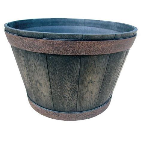 Resin Whiskey Barrel Planter by Pin By Jeanette On Garden
