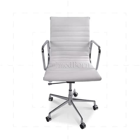 eames office chair ribbed high back white ea117 eames style office chair low back ribbed white