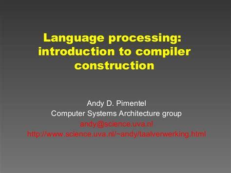 compiler design tutorial nptel compiler design tutorial