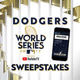 World Series Sweepstakes 2017 - official los angeles dodgers website mlb com