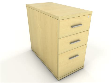 Drawer Unit Maple Desk High Drawer Unit Icarus Office Furniture