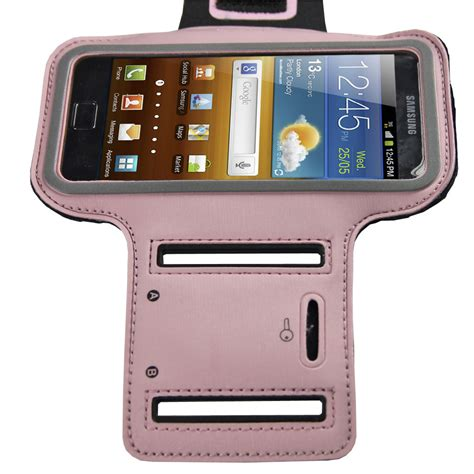 doodle runner galaxy ace pink sports armband for samsung galaxy ace 2 i8160 android