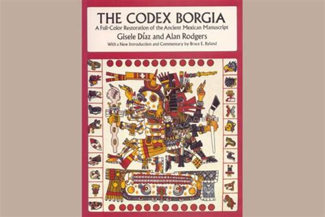 animal figures in the codices classic reprint books book the codex borgia