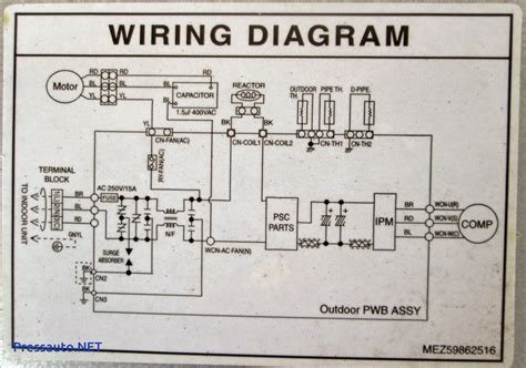 air conditioning wiring air conditioning wiring diagram